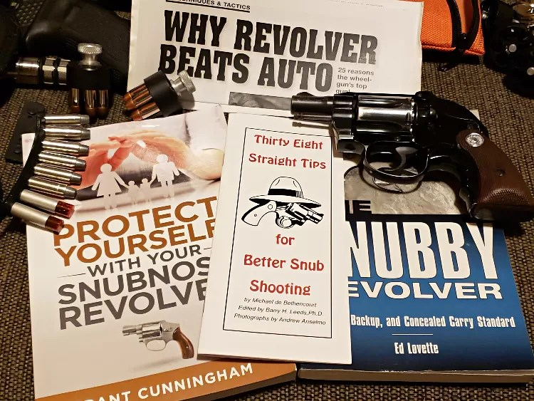 Colt Agent: Snub nosed revolver required reading.
