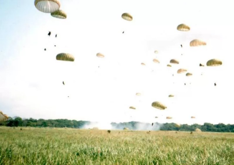 82nd Airborne troopers in Panama