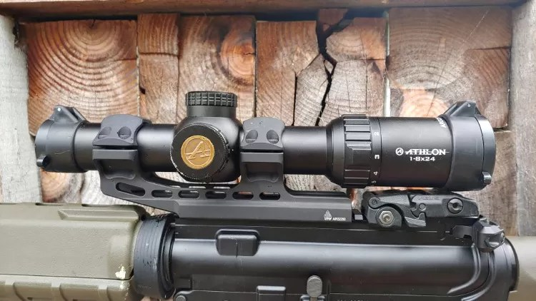 Light Rifle - Athlon Argos BTR Gen-2 1-8X optic.