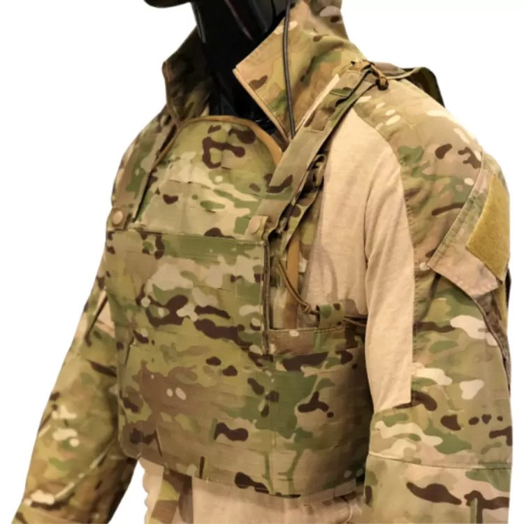 Matbock's Berserker Quantum plate carrier with the Rhodesian chest rig