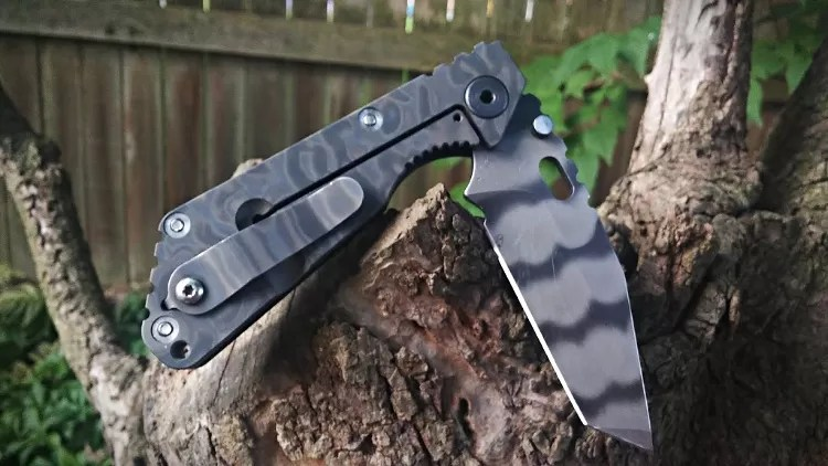 Strider Knives SnG smaller folding knife, tanto blade.