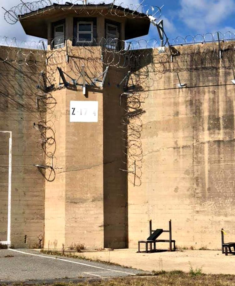 Prison gun tower