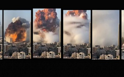 Explosion in Beirut: shockwave causes damages for kilometers around