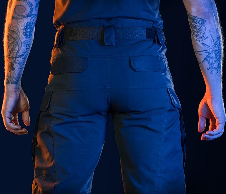 UF Pro Classic G2 tactical pants back pockets