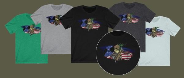 viking tee shirts from MadDuoCo and Anachrobellum.