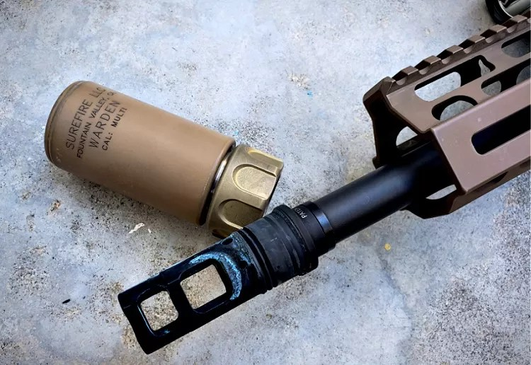 SCAR 17S Accessories: Surefire SOCOM Muzzle Brake MB762