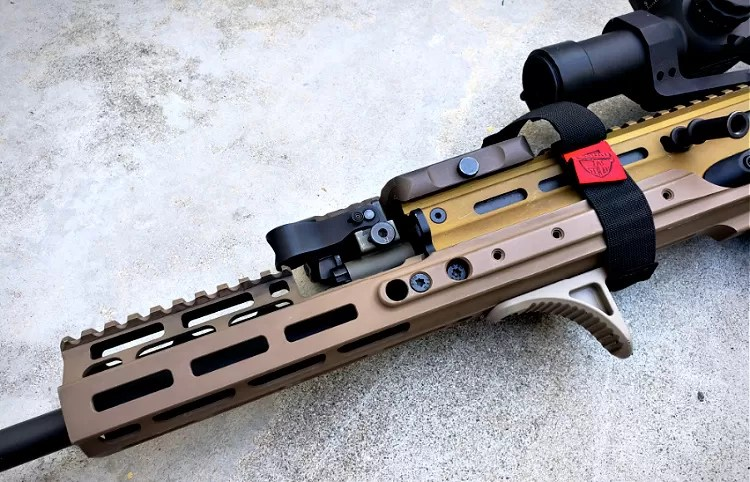 SCAR 17S accessories: Kinetic Development Group MREX