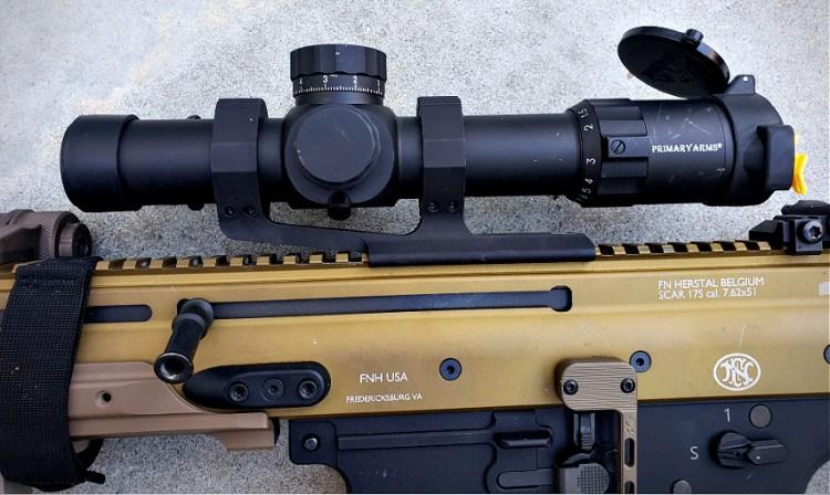 SCAR 17S - Primary Arms Platinum 1-8x24 ACSS