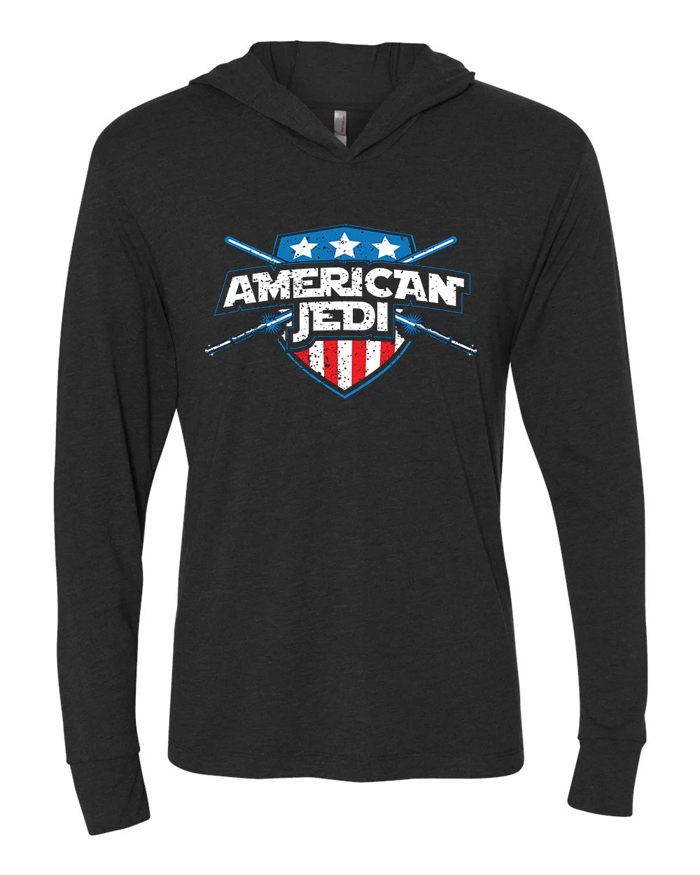 American Jedi hoodie (lightweight)