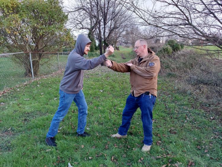 Knife attacks: defang the snake