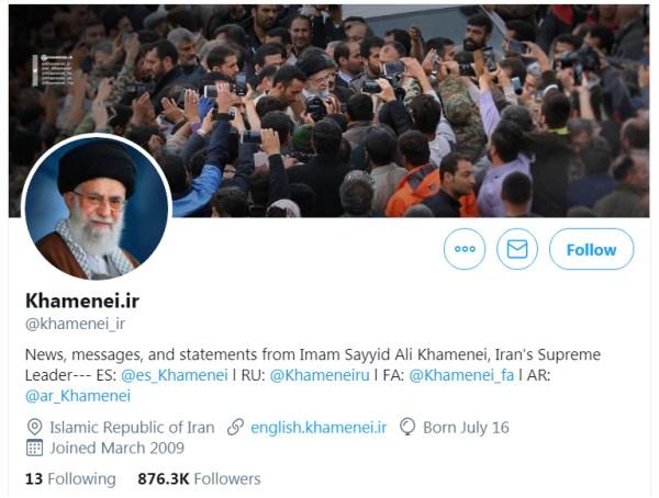 Ayatollah-Khamenei-on-Twitter
