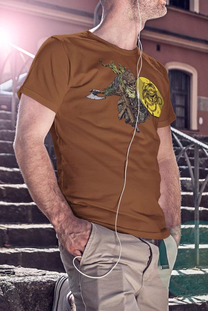 A shirt for your own heroic saga: Anachrobellum