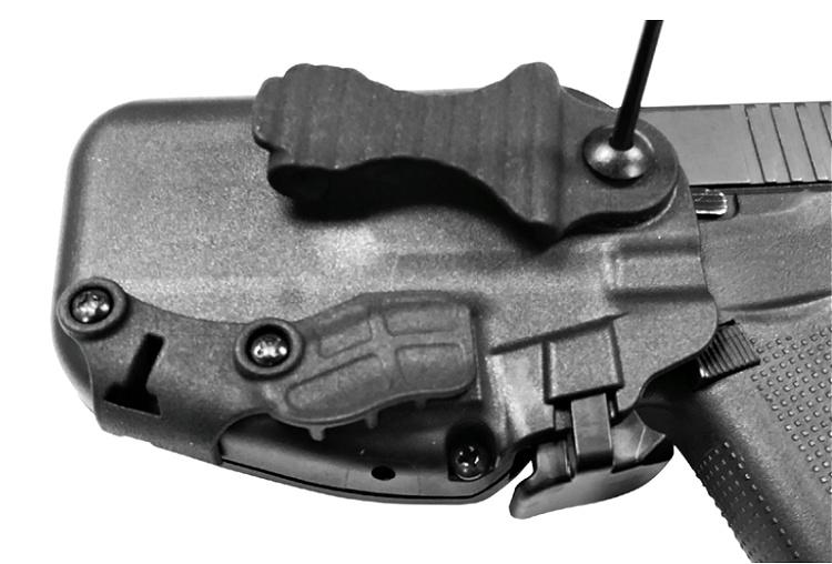 Safariland 575 Slim subcompact pistol holster