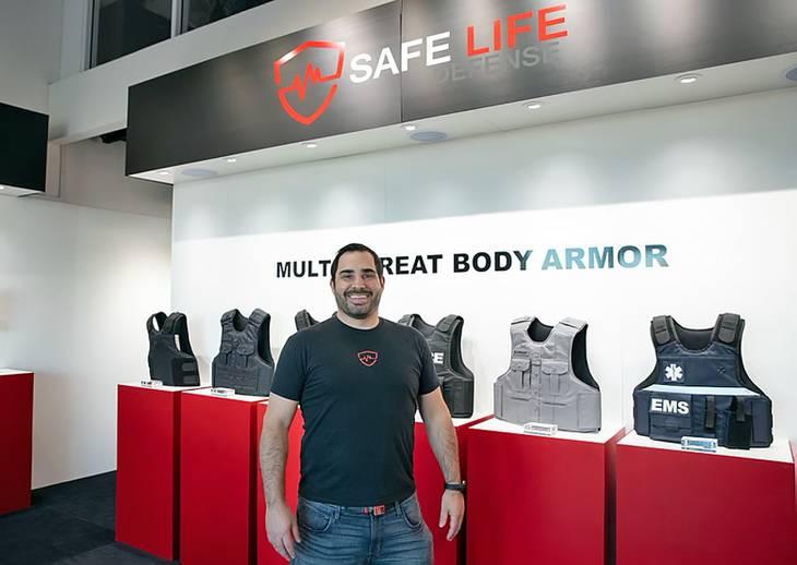 Safe Life Defense founder Nick Groat