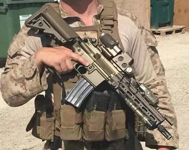 CAG (the Unit) HK416