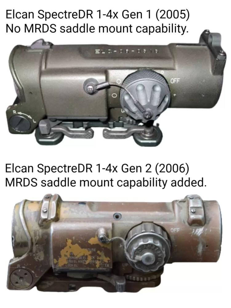 Elcan-Specter-1-4x_Gen1-vs-Gen2