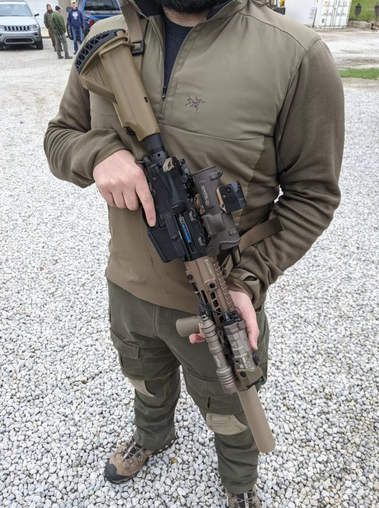 SpecterDR mounted to rifle, Alliance Ohio Police Training