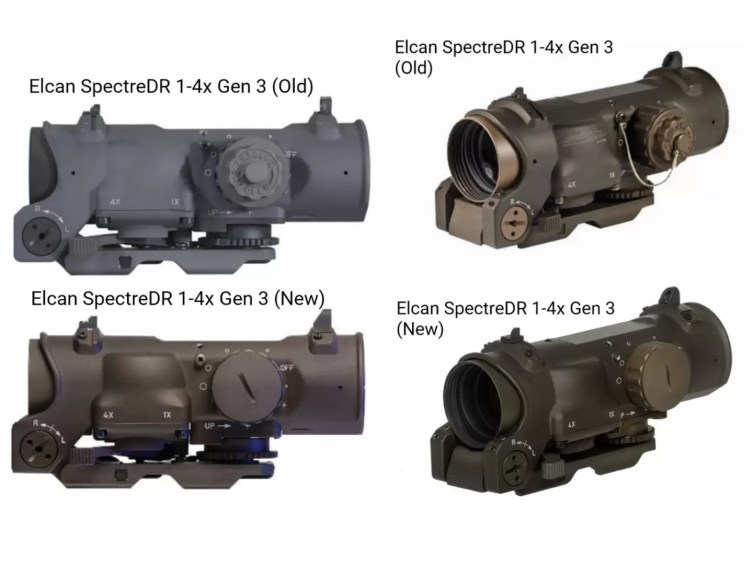 Elcan SpecterDR 1-4x by generation
