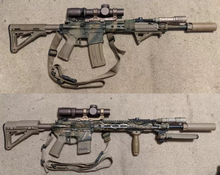 LPVO equipped rifles