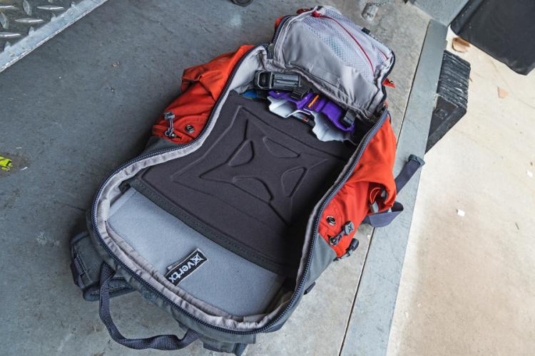 Vertx Gamut EDC bag main compartment