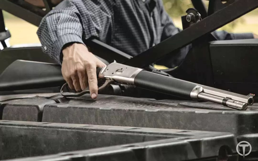 Taylor's and Company: Lever Action TC86 Takedown Rifle