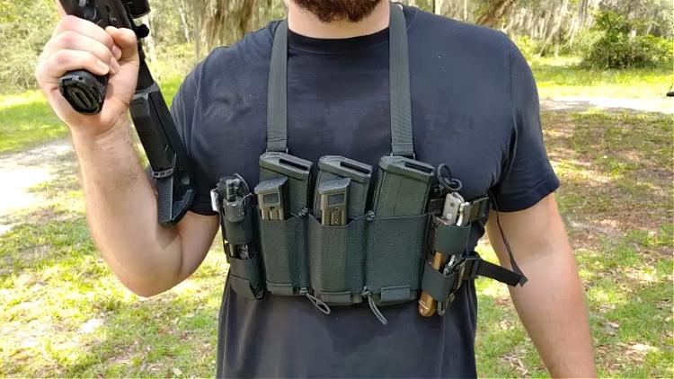 Dank Robber minimalist chest rig