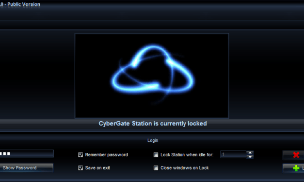 Download CyberGate v1.07 Full Version – Remote Administration Tools