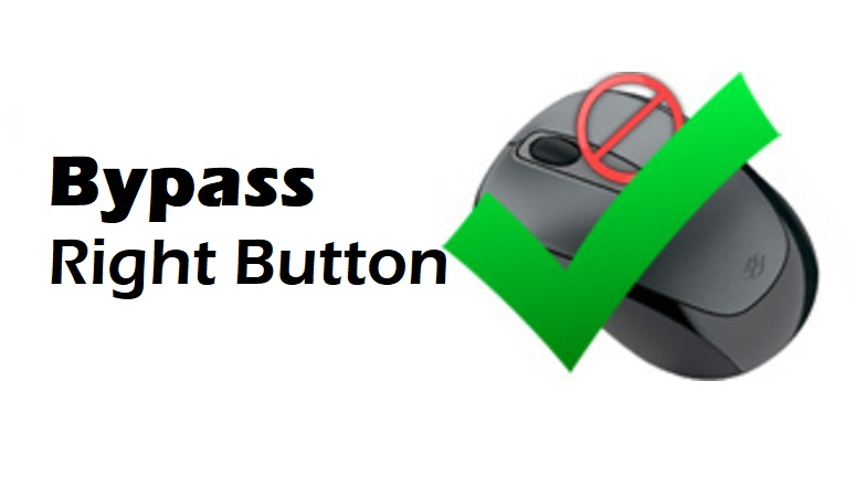 How to Bypass Blocked Right Click Button on Websites?