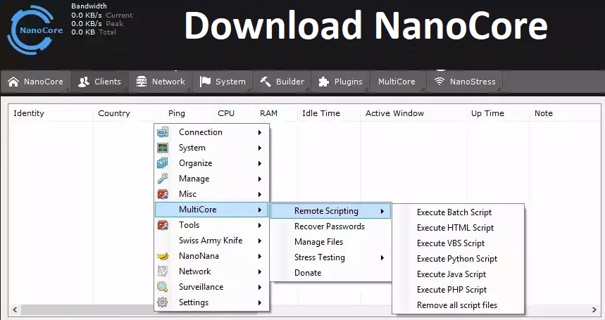 Download NanoCore RAT 1 2 2 0 Cracked - Remote Administration Tool