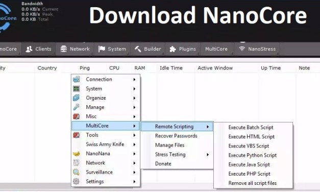 Download NanoCore RAT 1.2.2.0 Cracked – Remote Administration Tool