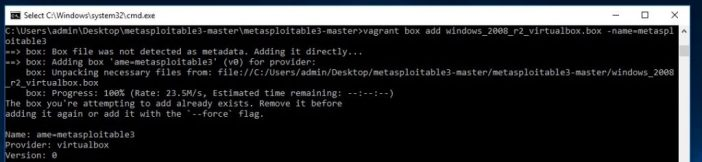 How to setup Metasploitable 3 on Windows 10 - Breach the Security