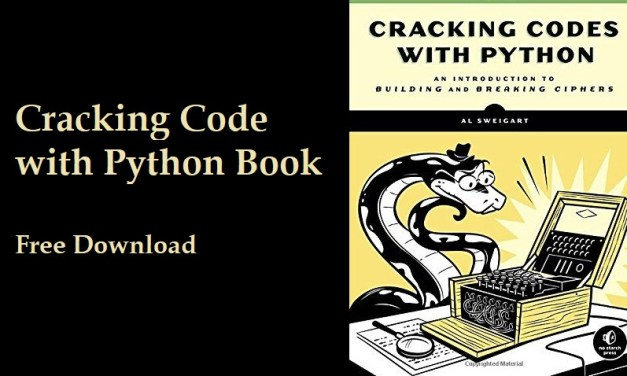 Download Cracking Codes with Python Book