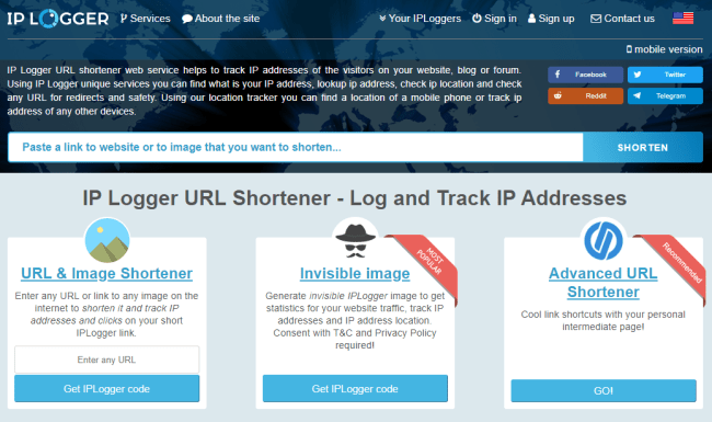 iplogger - Best IP Grabbers of 2020- Best IP Sniffers