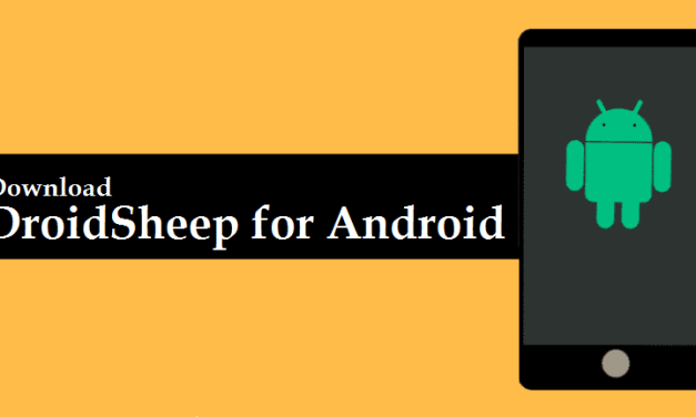 Download DroidSheep APK for Android