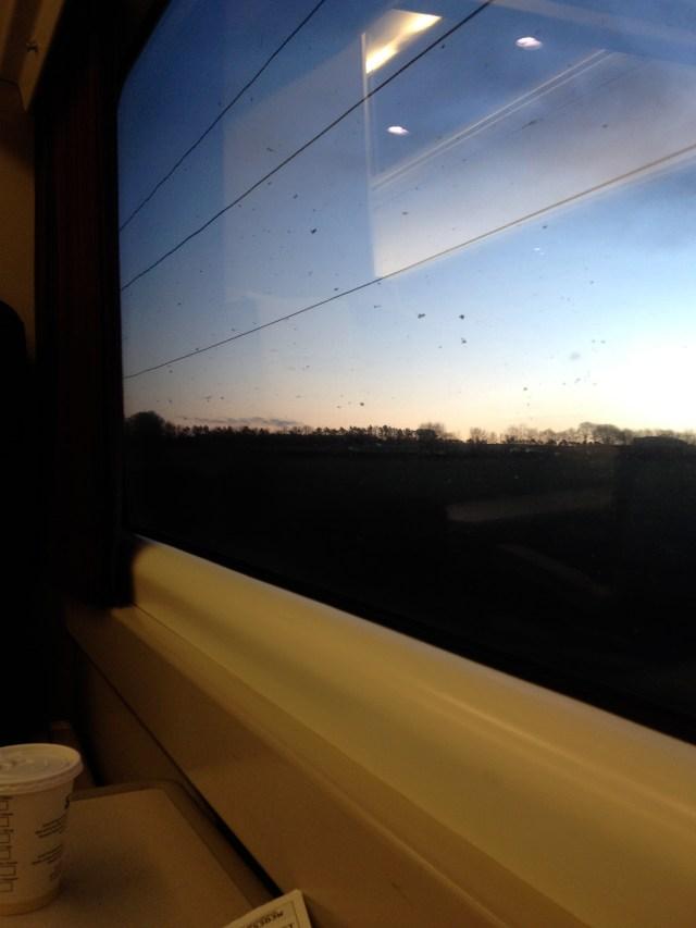 dawn, E Lothian, 125mph