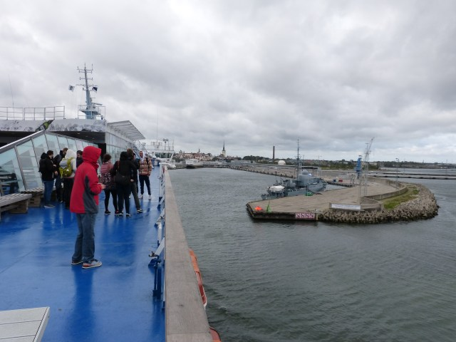 Arrival in Tallinn