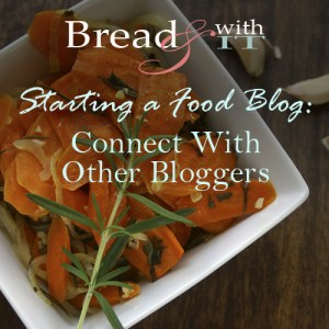 Starting a food blog