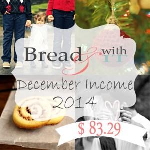 2014 december income report