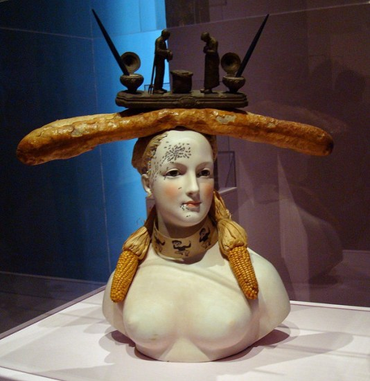 Salvador Dali's Retrospective Bust of a Woman