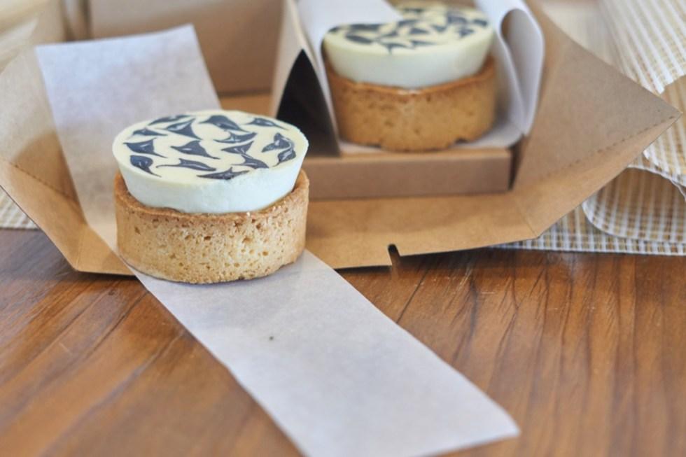 麵包屑&三合院 | 榴槤乳酪塔