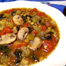 Lentil Lacinato with Portabella