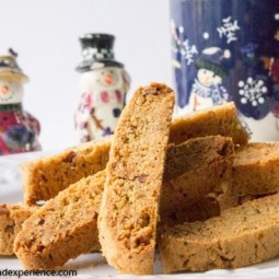 Orange Einkorn Biscotti with Nuts and Seeds