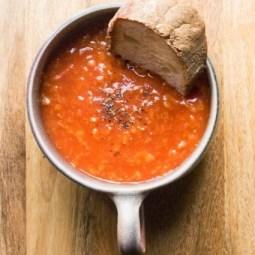 Uses for Stale Bread: Pappa al Pomodora Tomato Bread Soup
