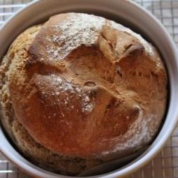 Sourdough Irish Soda Bread with Spelt