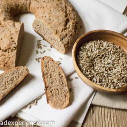 Swiss Rye Ring | Brasciadela #BreadBakingBabes