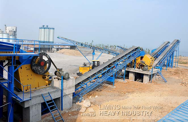 Stone crushing plant in Viet Nam