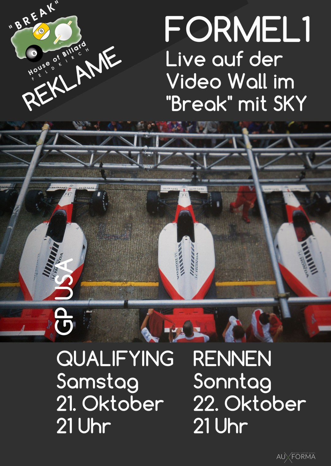 FORMEL 1 GRAND PRIX DER USA