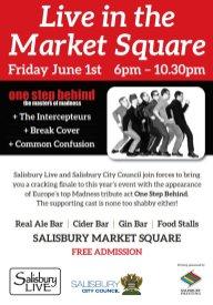 Salisbury Live Special Flyer