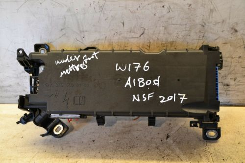 small resolution of mercedes a class fuse relay box passenger side front a2465400140 w176 2017 breakeryard com