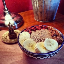 Raw Buckwheat Porridge with a Magic Maca Touch